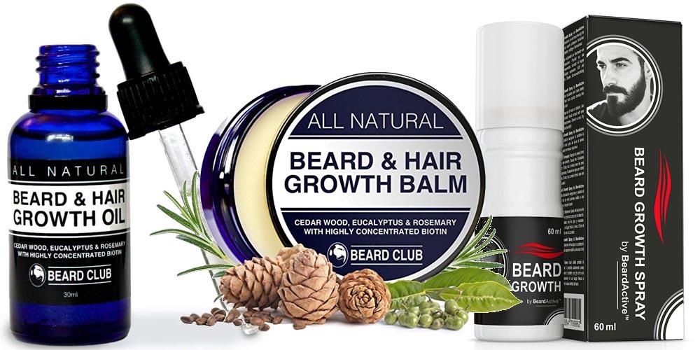 Prodotti per far crescere la barba